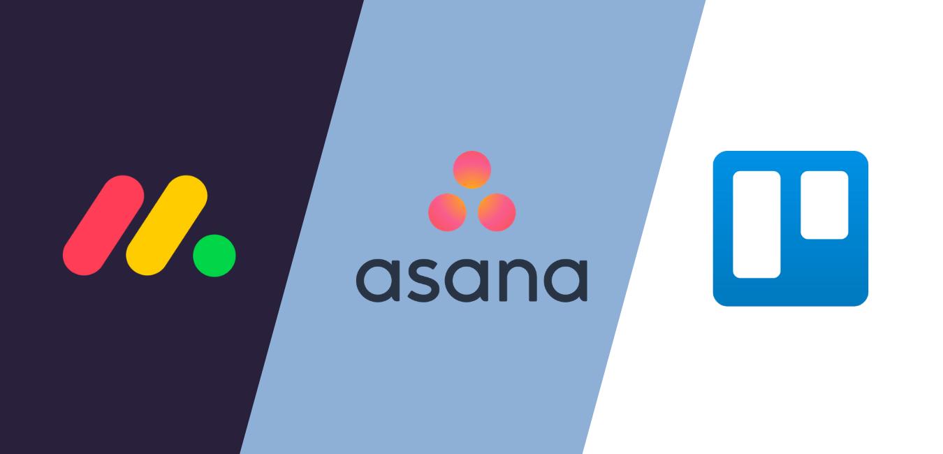 Monday.com vs Asana vs Trello : comparatif des 3 outils