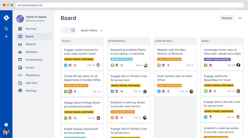 Jira interface board