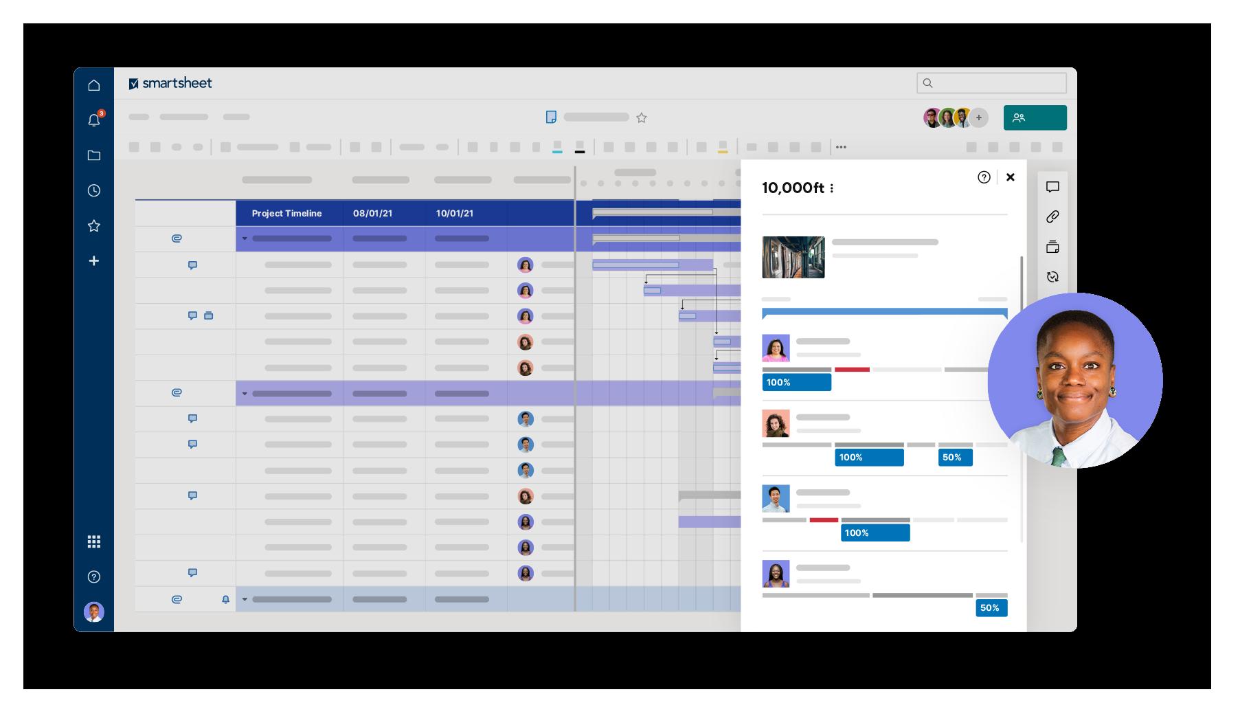 smartsheet screenshoot 2